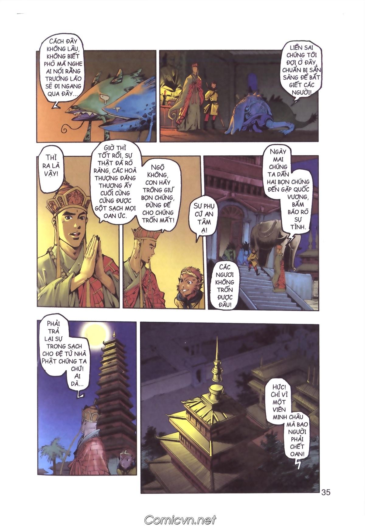 Tây Du Ký màu - Chapter 110 - Pic 33
