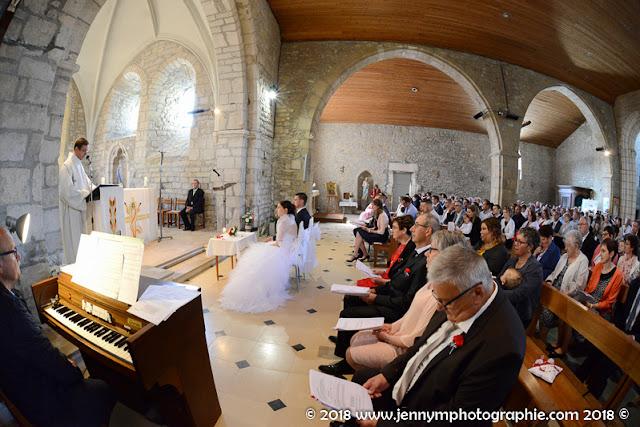 photo intérieur de l'église de la chapelle thémer, mariage
