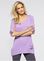 Pulover, mâneci lungi din tricotaj fin (bonprix)