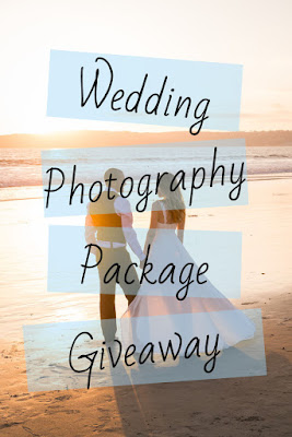 WEDDING PHOTOGRAPHY PACKAGE GIVEAWAY
