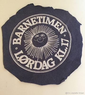Motiv fra barnetimegenseren jeg vant i lørdagsbarnetimen i 1983. Av Gro Jeanette Nilsen.