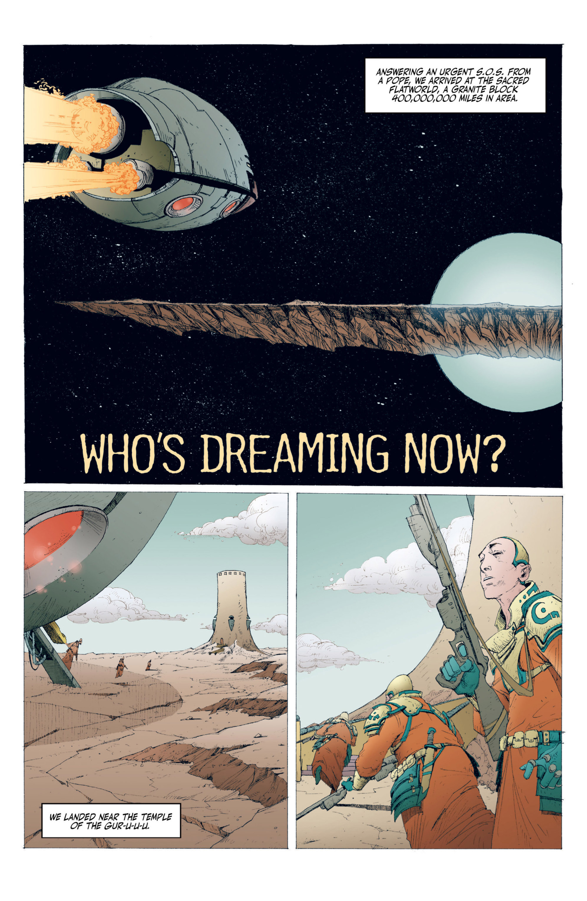 Read online Alejandro Jodorowsky's Screaming Planet comic -  Issue #1 - 46