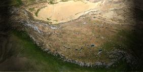 lembah sungai kuning