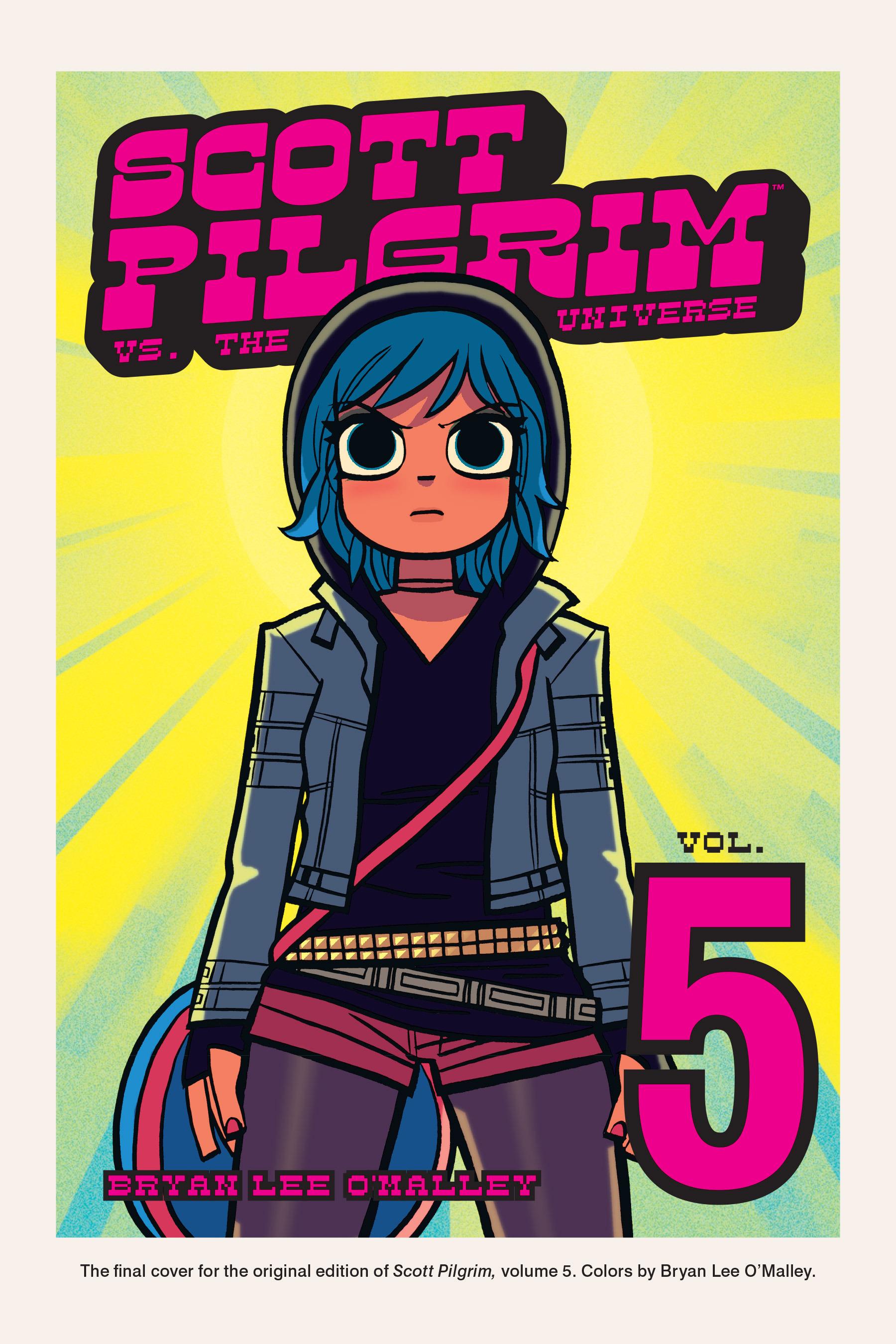 Read online Scott Pilgrim comic -  Issue #5 - 185