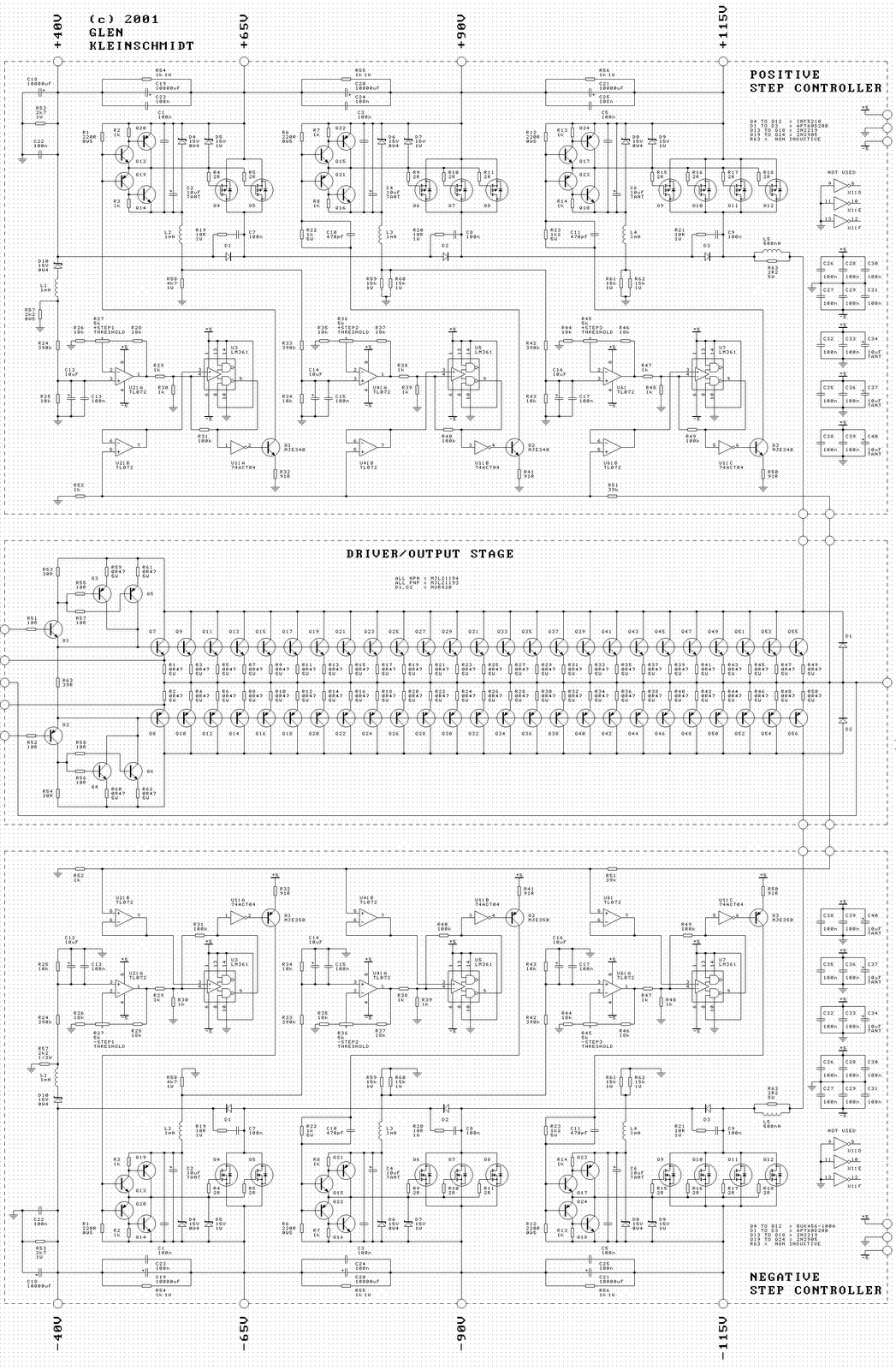 2000w power amplifier circuit diagram wiring diagrams for car stereo installations fosti audio electronics project koleksi amp
