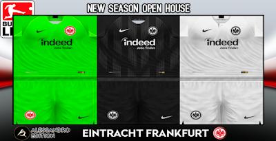PES 6 Kits Eintracht Frankfurt Season 2018/2019 by Alessandro
