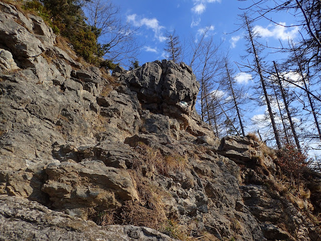 Na ścieżce jest tylko jedna skałka do pokonania