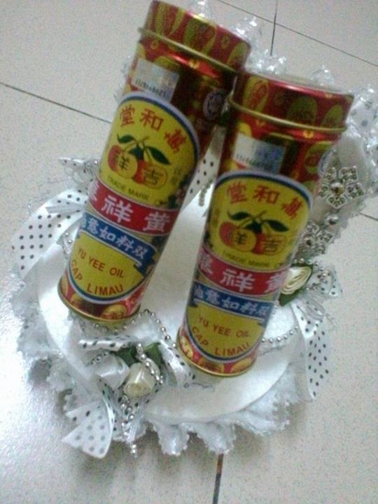 minyak yu yee cap limau, hadiah untuk bayi baru lahir, halal ke tidak