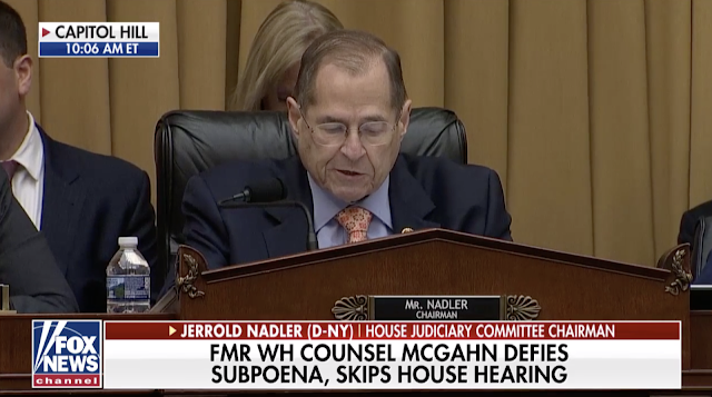 Democrats fume as McGahn skips House hearing: 'Our subpoenas are not optional'