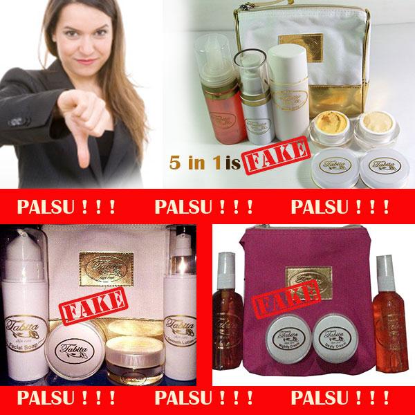 Gambar Tabita Skin Care Palsu