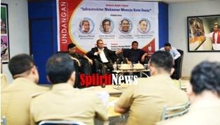 Walikota Makassar,Gelar Diskusi Akhir Tahun