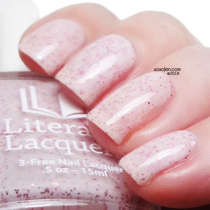 xoxoJen's swatch of Literary Lacquers Princess Buttercup