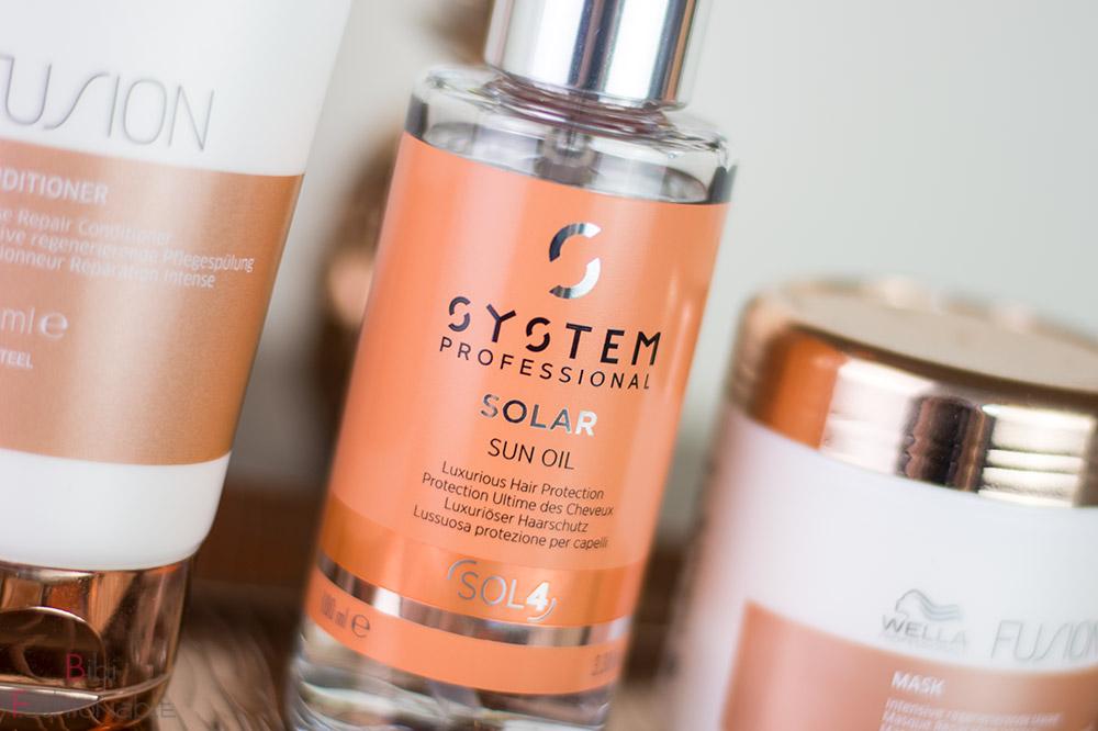 Sommer Haarpflege System Professional Solar Sun Oil ausgepackt