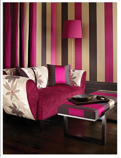 Sala a rayas salas con estilo - Rayas horizontales pared ...