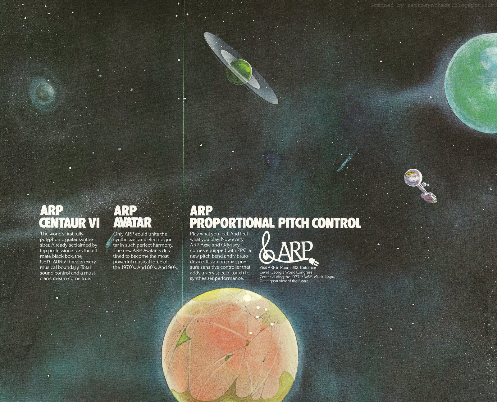 Retro Synth Ads: ARP Centaur VI, Avatar, and Proportional