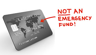 Credit Card, Not Emergency Fund