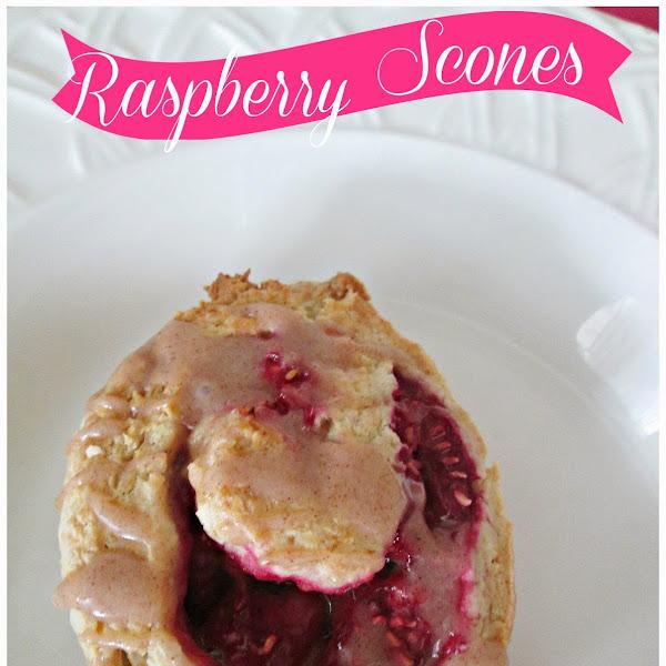 Raspberry Scones