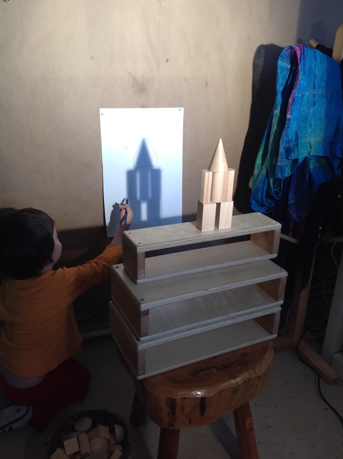 Wonders In Kindergarten Shape Shadows Exploring 2d And