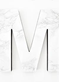 DIY Marble Monogram