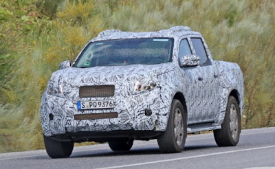 2018 Mercedes GLT Pick Up Spy Shots For US Market