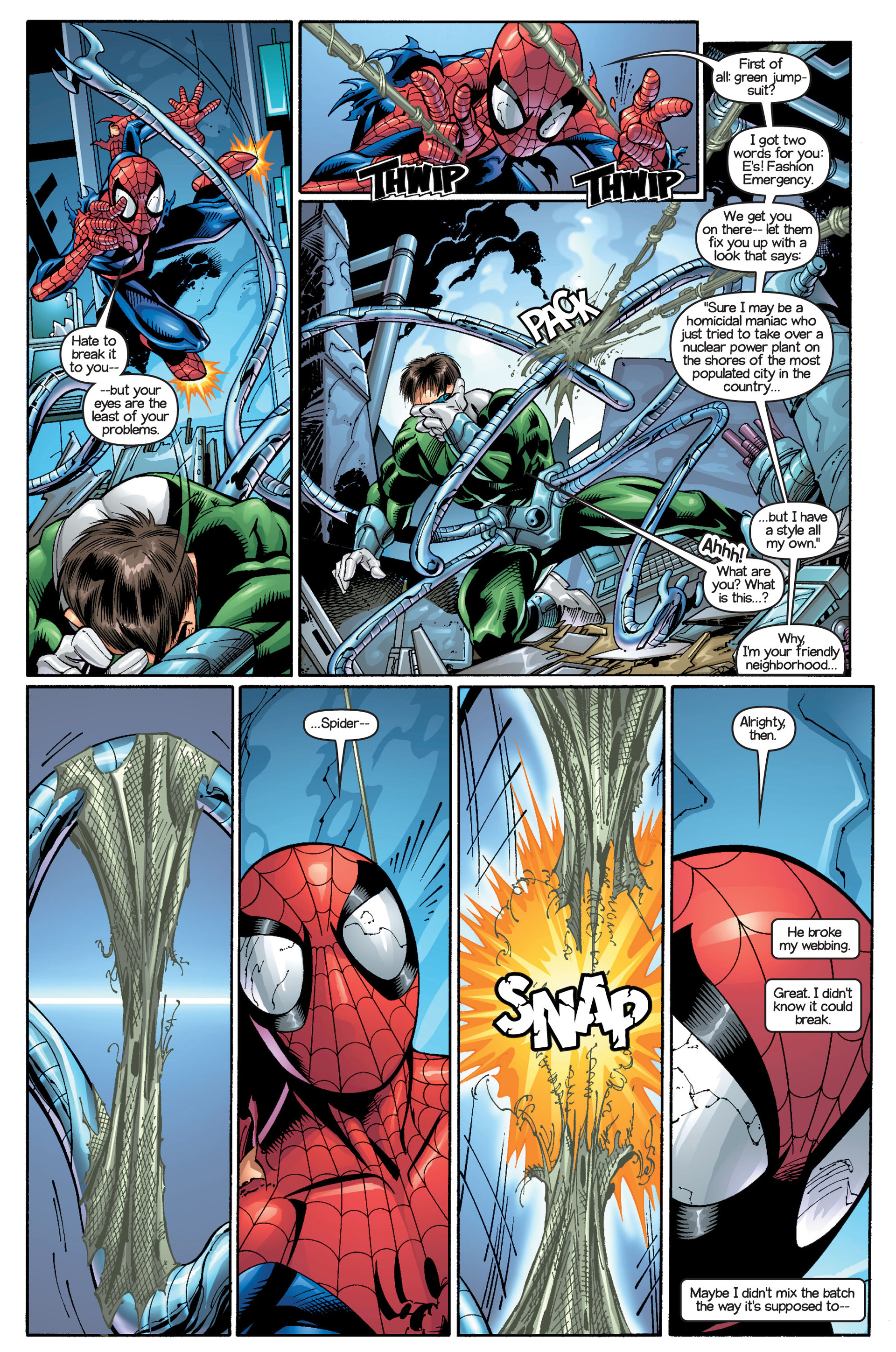 Read online Ultimate Spider-Man (2000) comic -  Issue #18 - 5