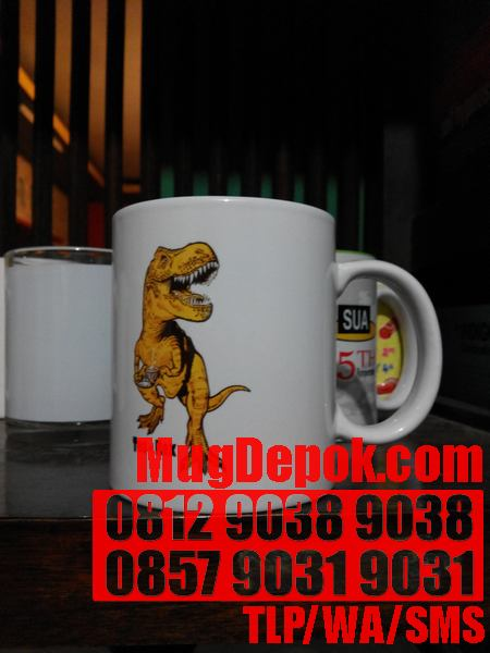 DIGITAL COLOR COFFEE MUG ADVERTISING BEKASI
