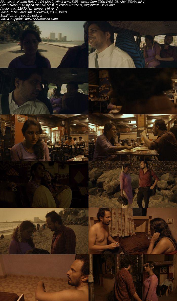 Jaoon Kahan Bata Ae Dil (2019) Hindi 720p WEB-DL x264 850MB Movie Download