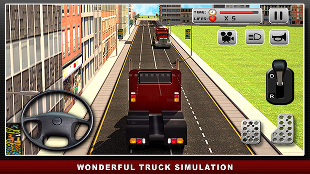 Road Truck Simulator