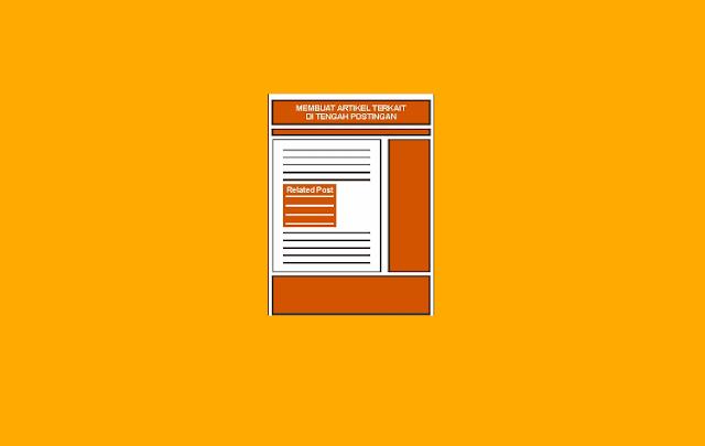 Cara Memasang Artikel Terkait di Tengah Postingan