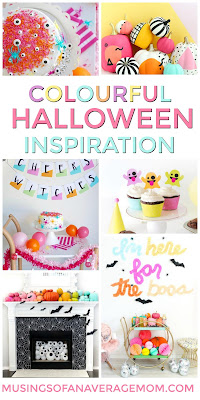 Colorful Halloween Decor