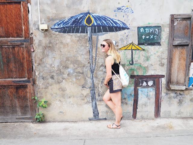 Chinatown, Bangkok, Streetart