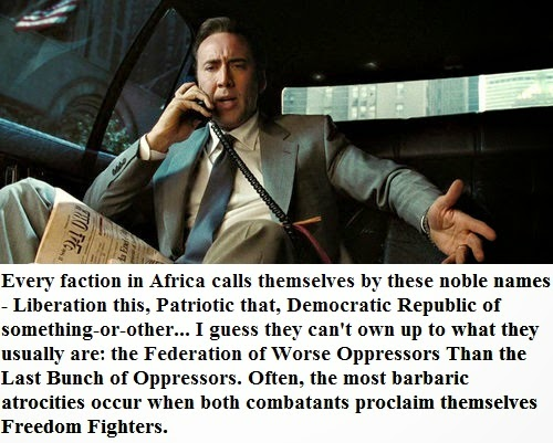 Lord of War Nicholas Cage Quotes