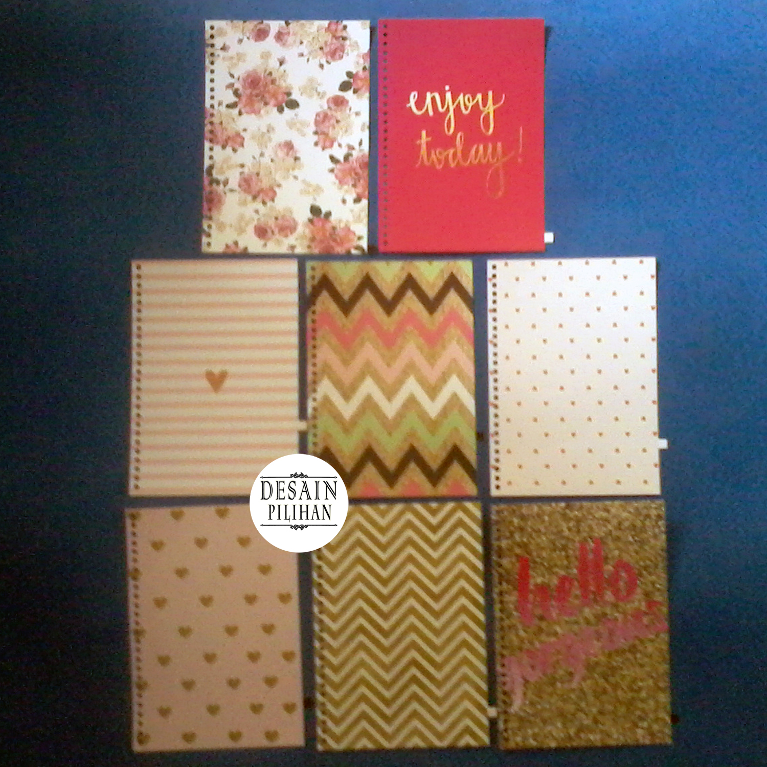 PEMBATAS BINDER TRIBAL, QUOTE, PINKY