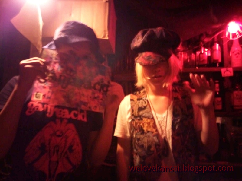 We Love K a n s a i: Osaka@ Night - Psychedelic Bar GANJA