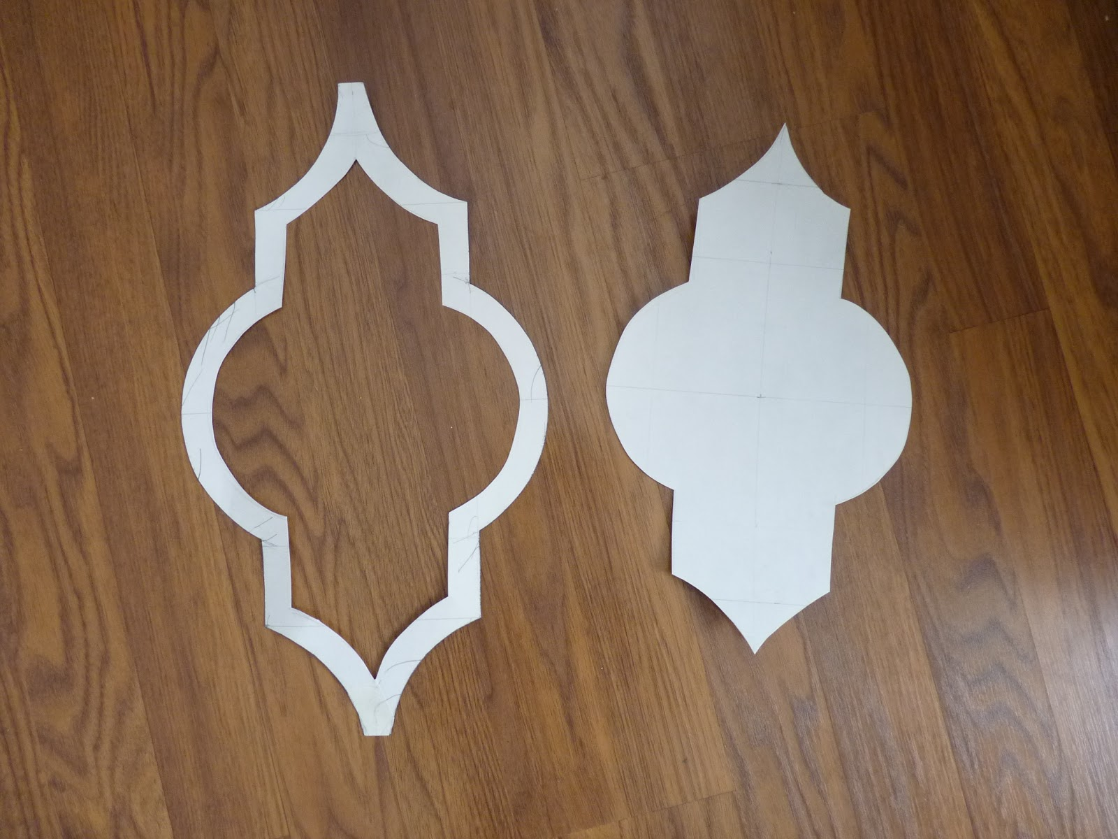 moroccan shapes templates - d i y d e s i g n hand painted moroccan lattice wall stencil