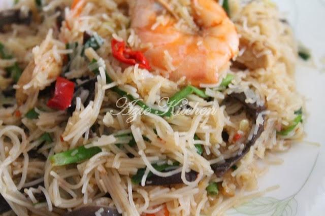 Singapore Mee Hoon Resepi Chef Dinar Matahari