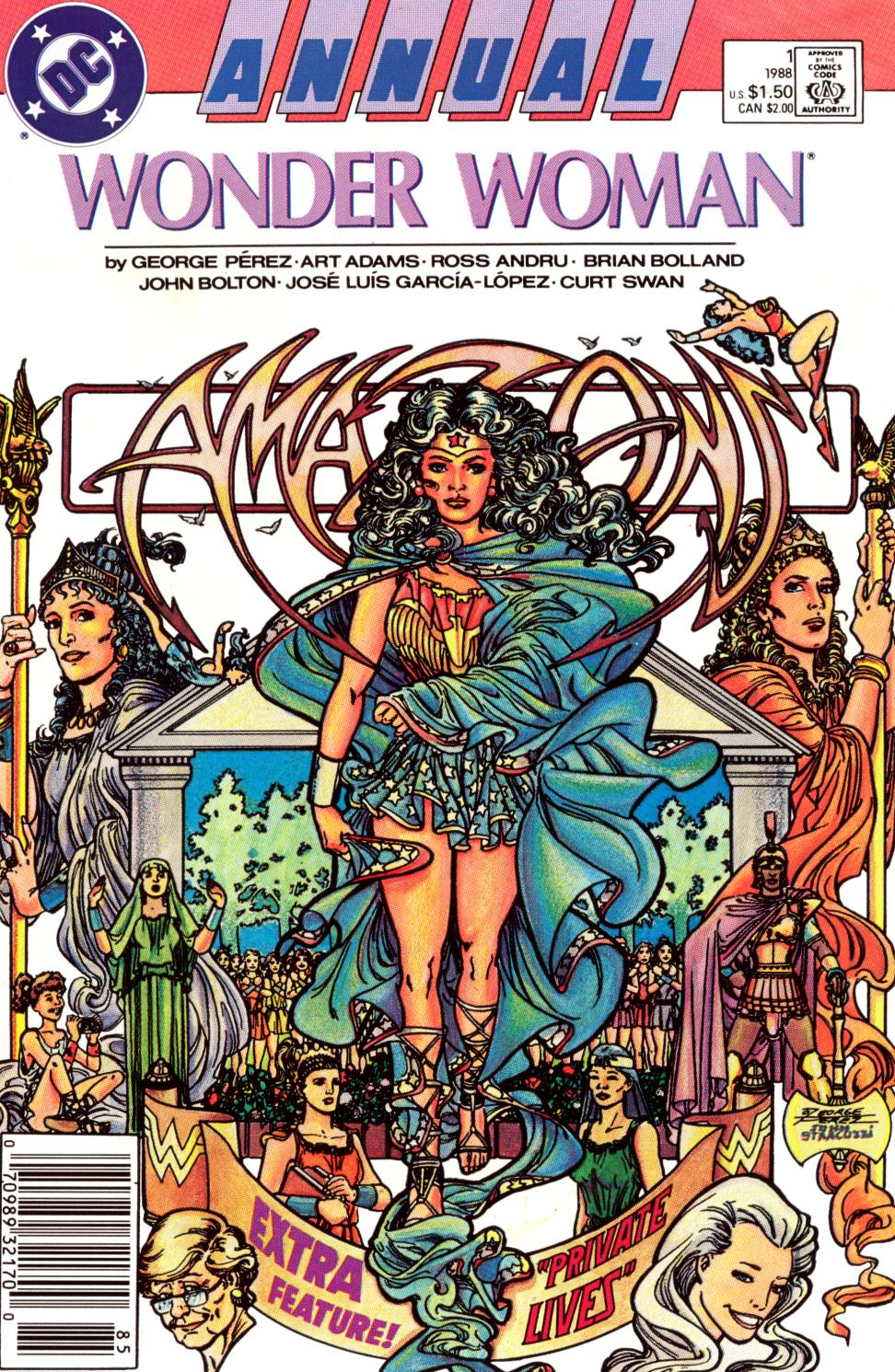 Read online Wonder Woman (1987) comic -  Issue # Annual 1 - 1