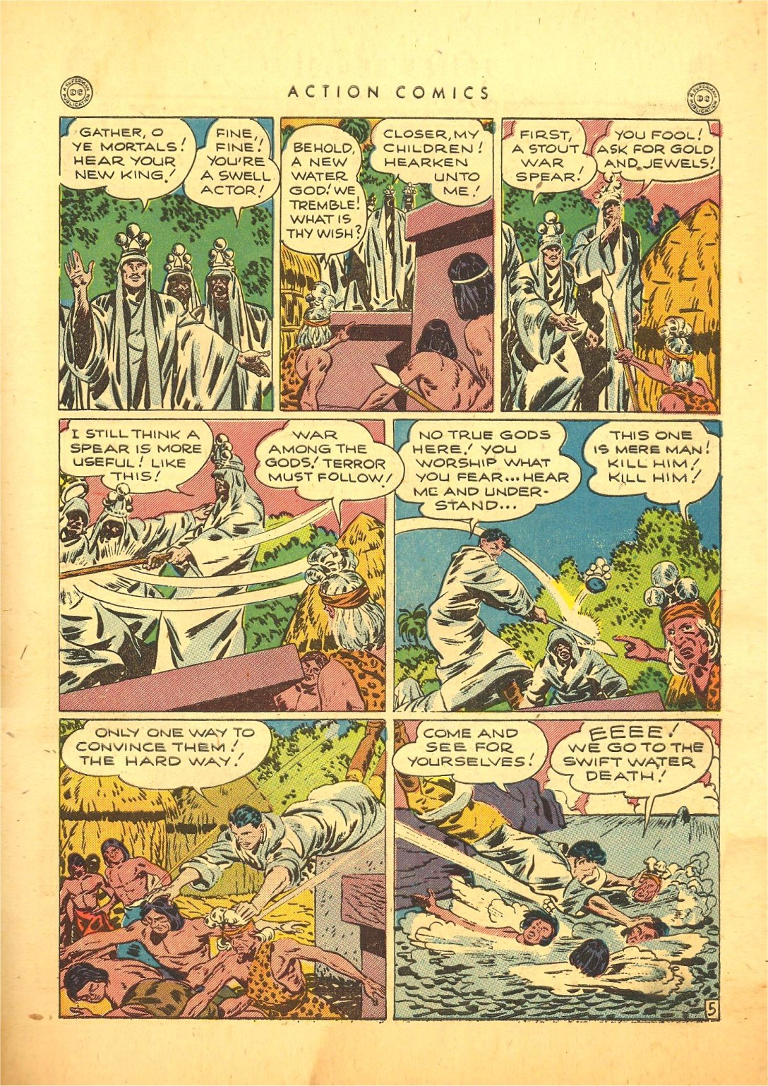 Read online Action Comics (1938) comic -  Issue #87 - 38