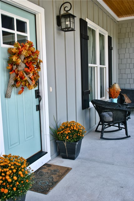 New every morning fall open house at willow hill farm - Front door colors for grey house ...