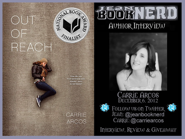 Carrie Arcos Author Interview Jean Booknerd