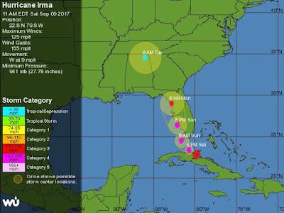 Среда, 13 сентября 2017 г. Отчет о медитации посвященной ураганам. Tampa1