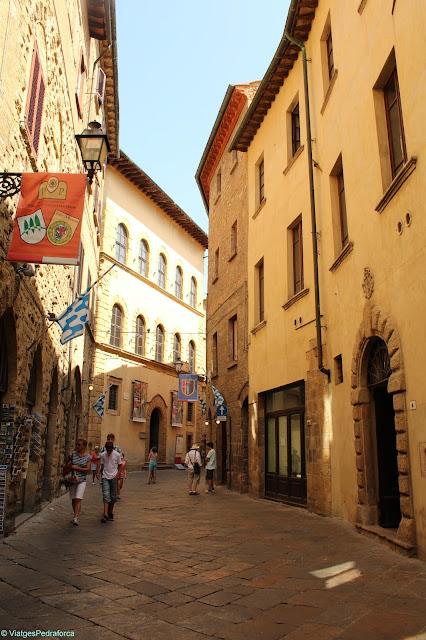 Volterra, Toscana medieval, arqueologia, etruscs, Itàlia
