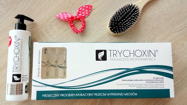 Trychoxin - kuracja wzmacniająca odrost i zapobiegająca wypadaniu włosów