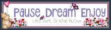 Challenge Blog Owner, Janis Lewis of Pause Dream Enjoy
