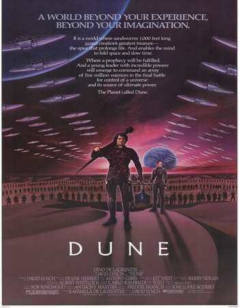 Poster Of Dune 1984 English 400MB BluRay 480p ESubs Watch Online Free Download downloadhub.in
