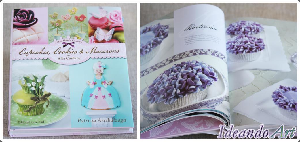Libro y hortensias