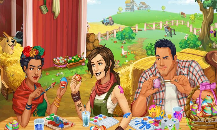 تحميل  لعبة المزرعة الكبيرة Goodgame Big Farm للاندرويد برابط مباشر