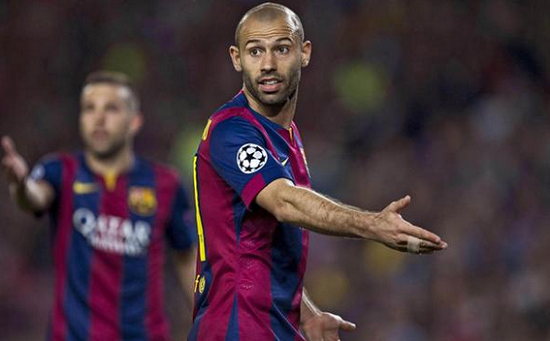 Barcelona Tak Rela Lepaskan Mascherano
