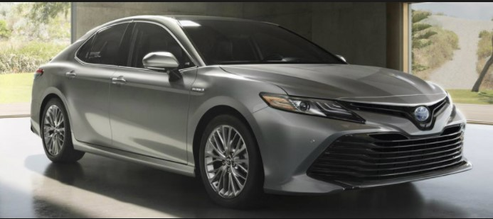 Gas Mileage of 2019 Toyota Camry