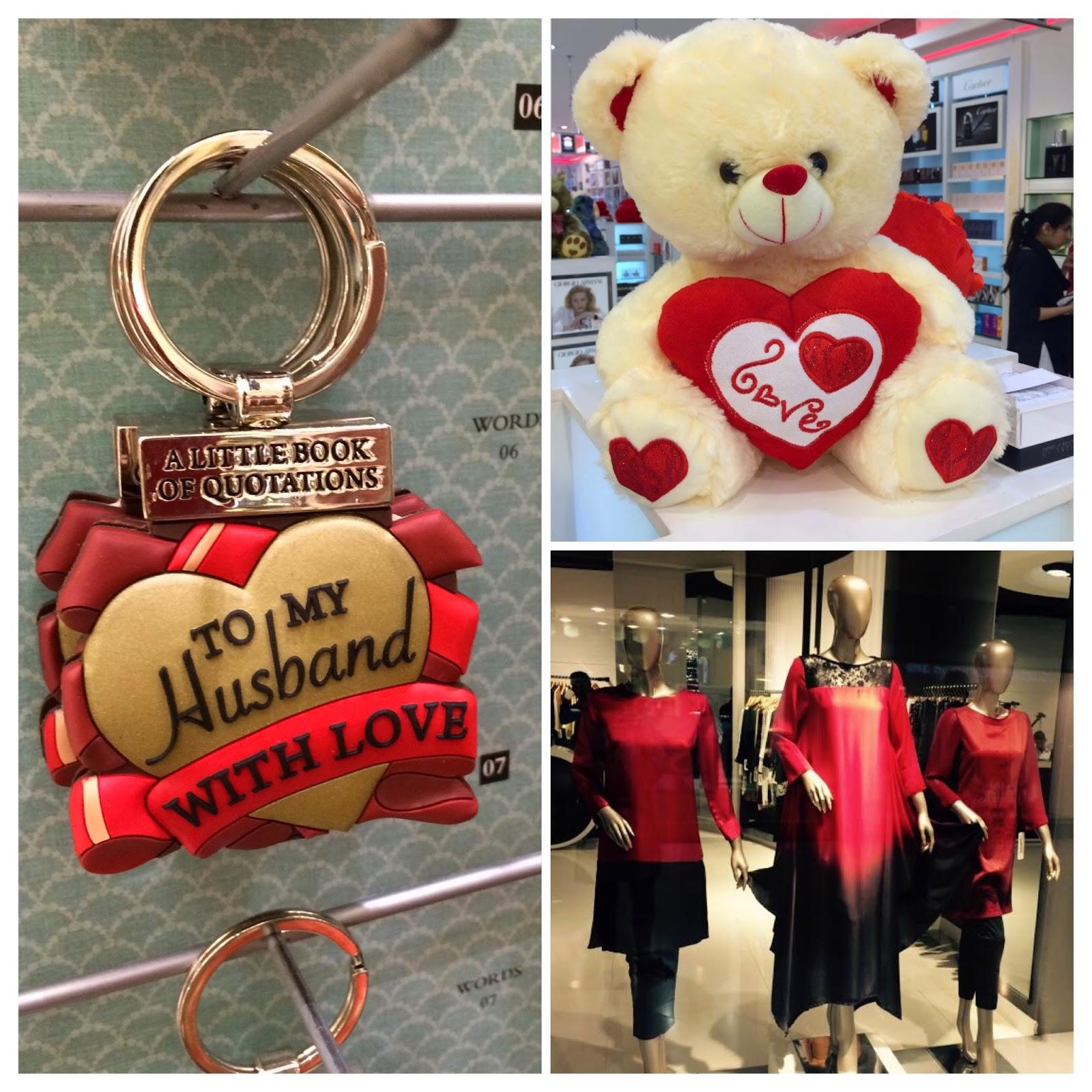 teddy bears and keychains
